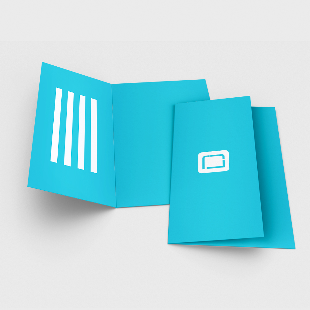 Folded Business Card - Your Online Print Shop, Design, Print ...